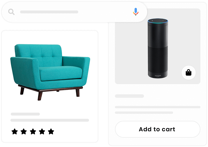 Let your Builderfly store products get discovered by online searchers on Google product search engine. List your products on Google and optimize them to appear in searches.