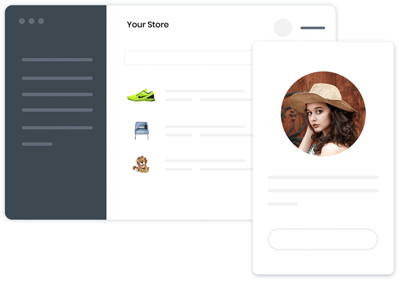 Creating your brand image while establishing your online presence is a cake-walk with Builderfly! Create your brand image for free with our exclusive store builder as well as mobile app builder.