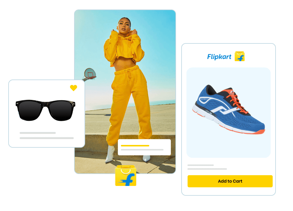 Integrate your Flipkart store to your Builderfly ecommerce store and manage the entire selling panel, without the need for repeated logins, right from your Builderfly dashboard.