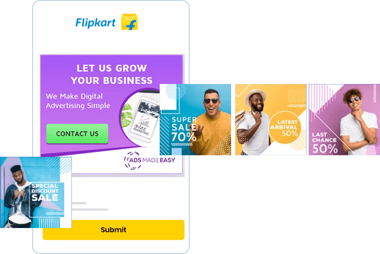 The number of buyer-traffic on Flipkart is much more than that known by the majority. Grab your opportunity to easily sell and manage your products online from a single Builderfly dashboard.
