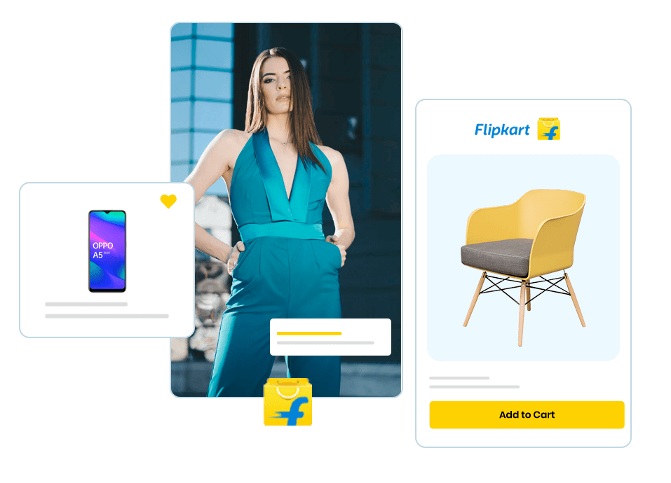 Make your products available for shopping on Flipkart store. The Walmart Flipkart e-commerce platform has a great scope to make your business grown. Avail the opportunity offered.
