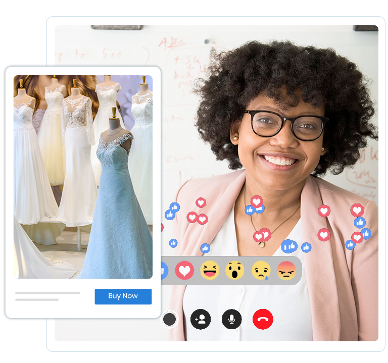 Live streaming channels through various media offer instant multiplication in number of sales for attractive products. Use Builderfly' services to live stream your products to grow your business.