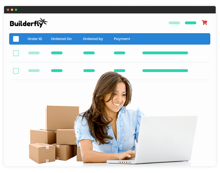 Builderfly is a complete ecommerce solution providing a platform for small businesses that offers whole online store business management from a single dashboard.