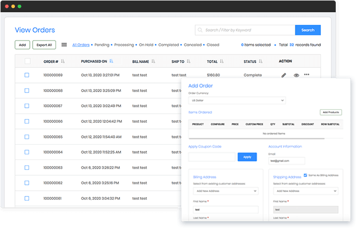 Manage and fulfill the orders you receive on your Builderfly products from multiple selling platforms from a single Builderfly dashboard with the multi-channel integration benefit.