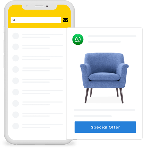 Reaching your potential customers has become a lot easier with Builderfly's Mobile App Builder. Get your chance to market your products with your own ecommerce mobile application that can be published on both, iOS as well as Android.