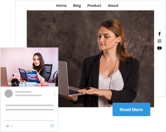 Blogging is an indispensable part of selling products through your ecommerce store. Builderfly understands your requirements. Utilize Builderfly's extensive blogging feature and promote your ecommerce business easily.