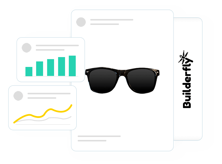 Track ecommerce mobile application downloads from Apple App Store & Google Play Store, using Builderfly dashboard.