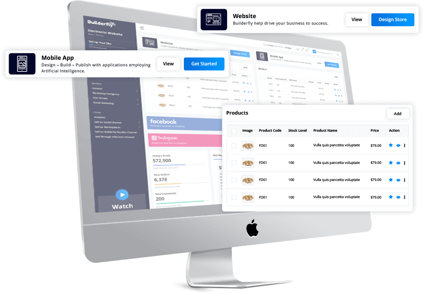 Builderfly's CMS management helps you manage your ecommerce so efficiently that all you have to worry about is how to boost your sales and grow your business.